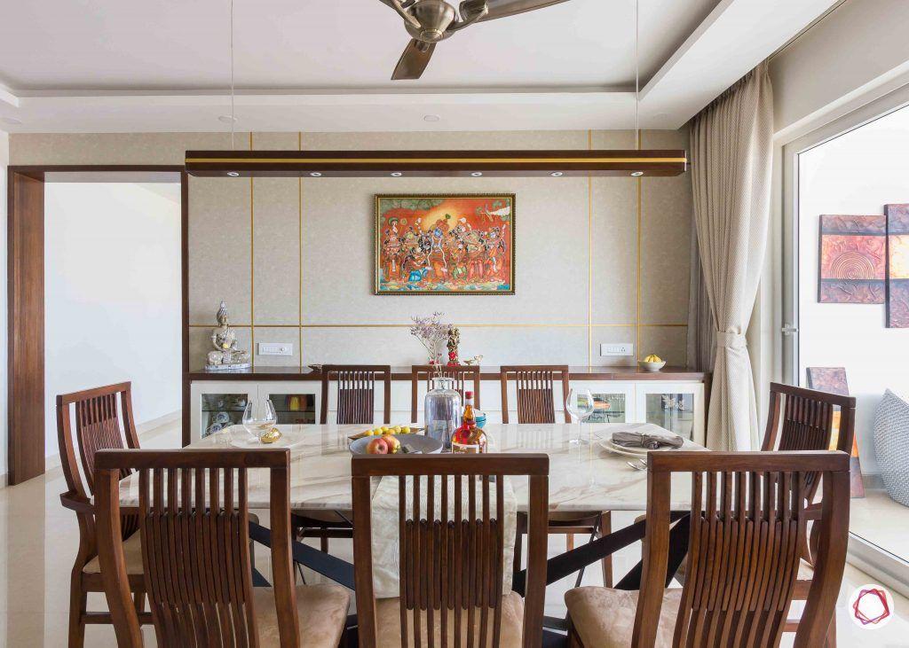 Adarsh palm retreat_dining room 1