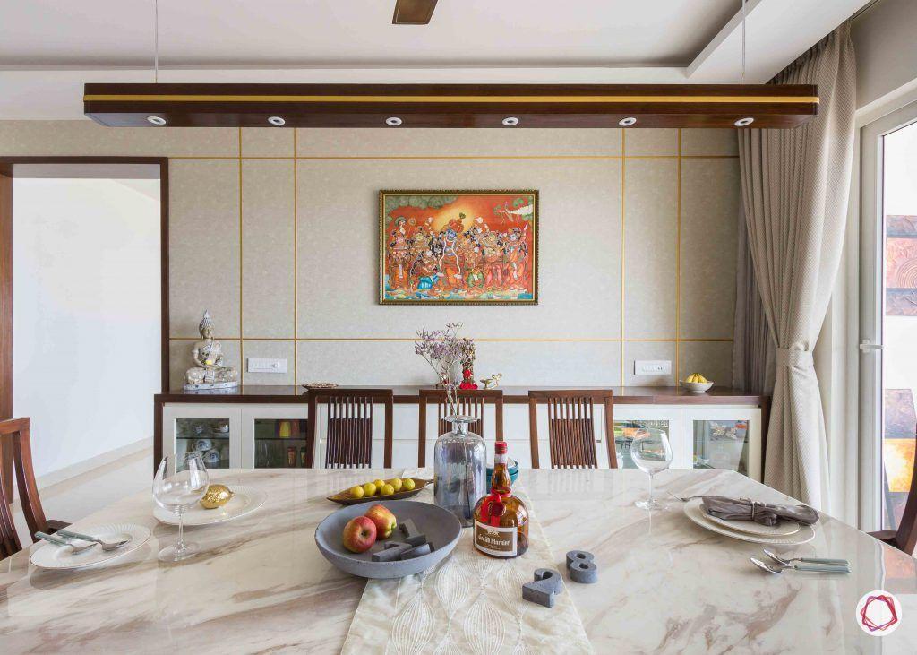 Adarsh palm retreat_dining room 2