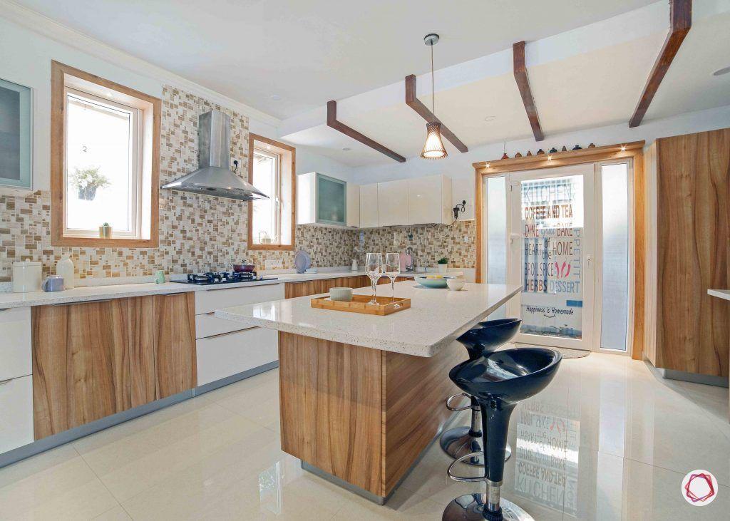 simple kitchen design_roof