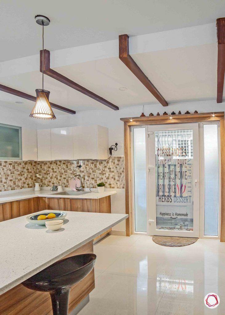 simple kitchen design_rafter