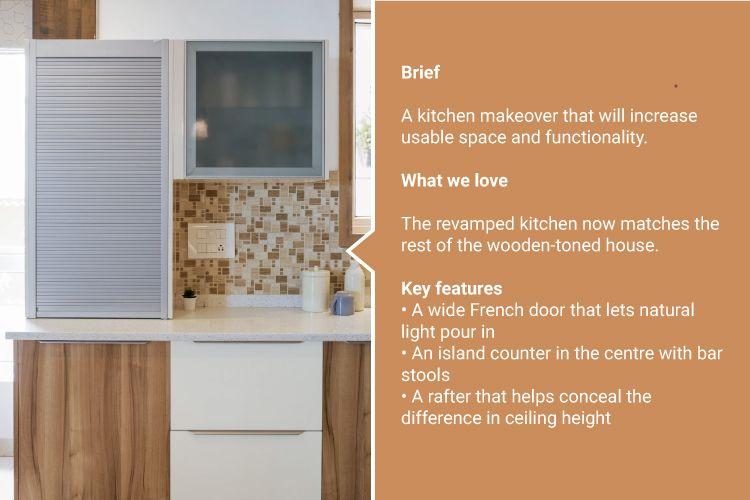 simple kitchen design_info box