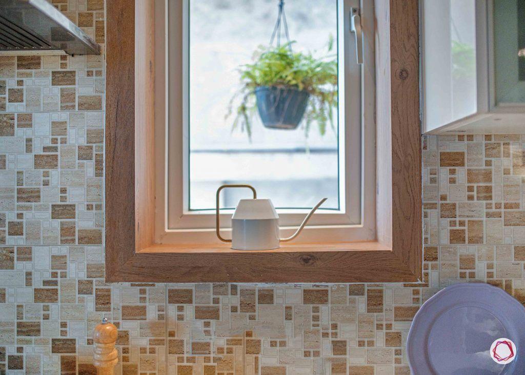 simple kitchen design_window