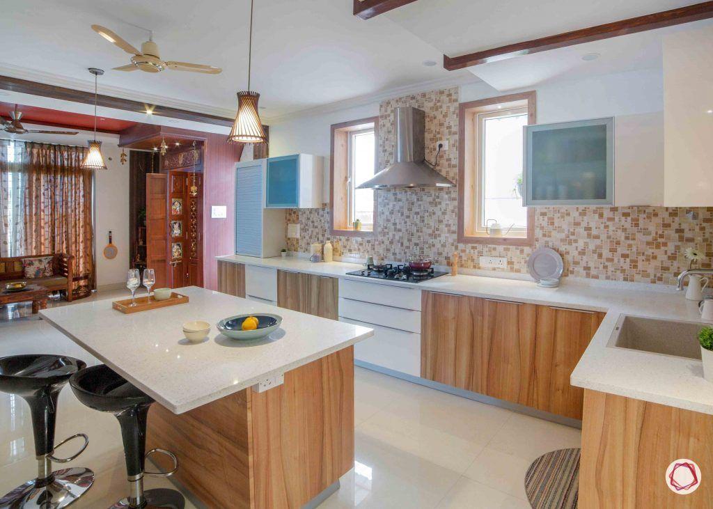 simple kitchen design_lighting