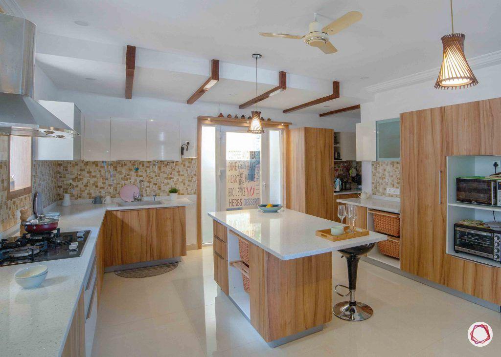 simple kitchen design_island counter 1