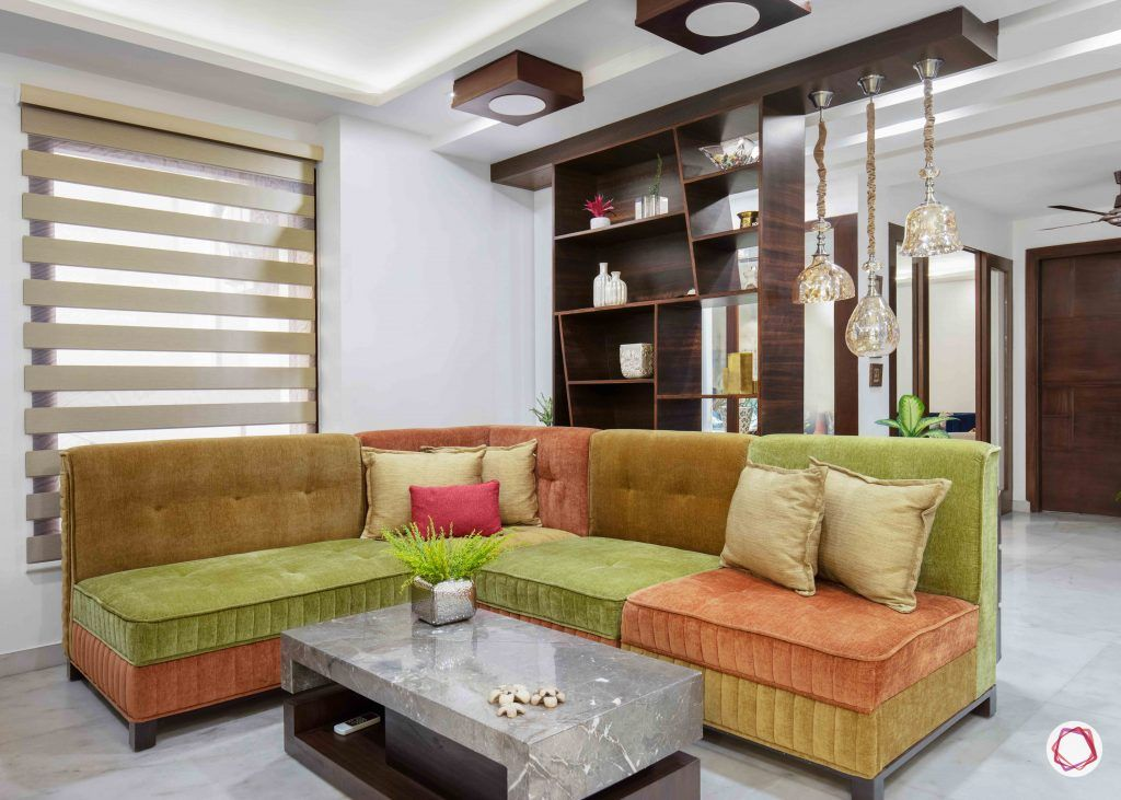 Flats in Delhi_lounge area close-up