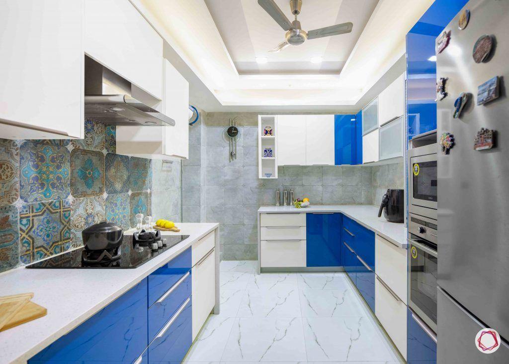 Flats in Delhi_kitchen full view