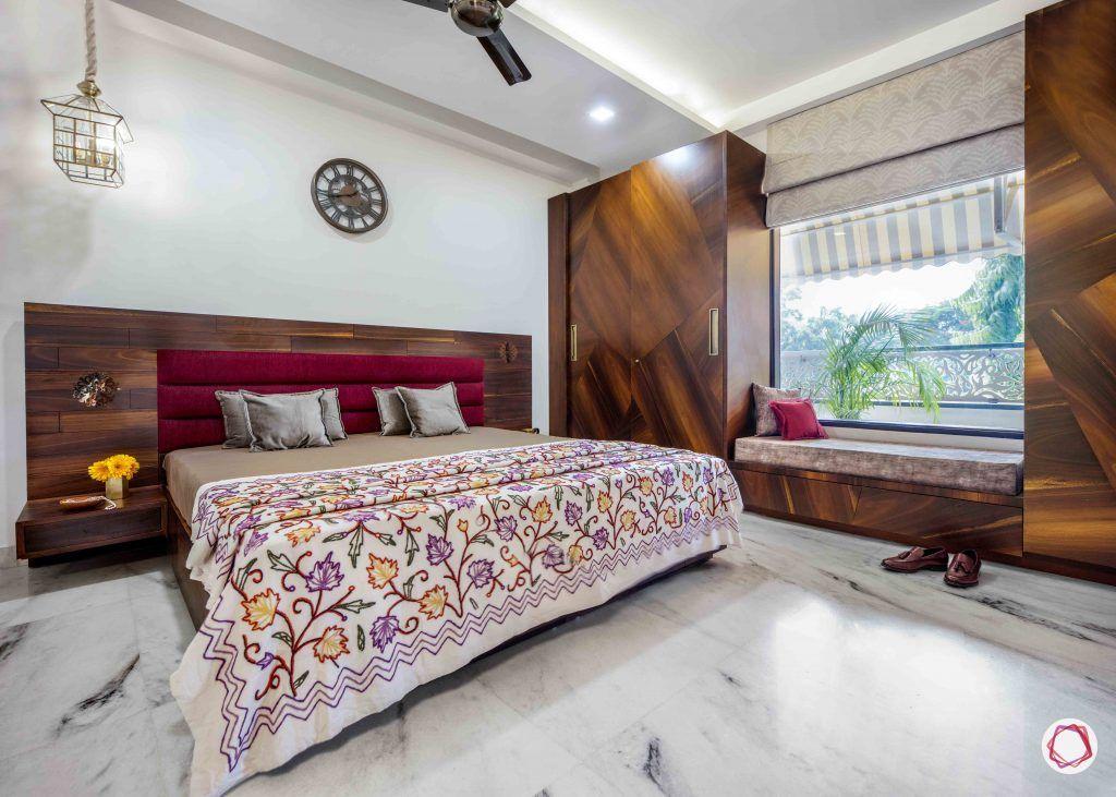 Flats in Delhi_master bedroom full view