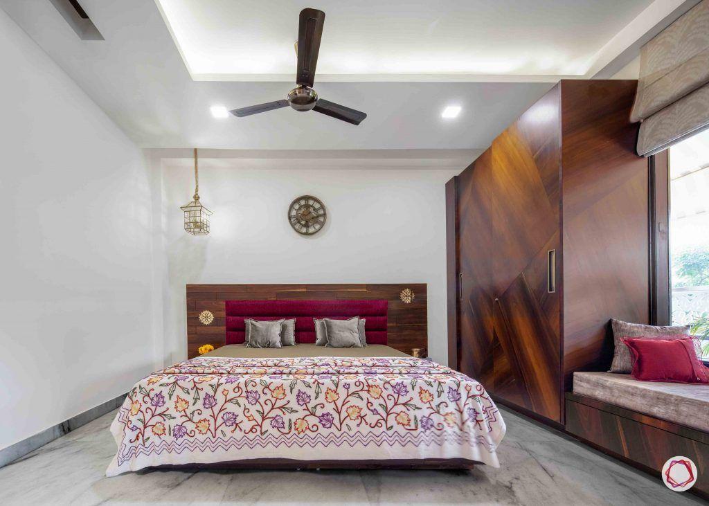 Flats in Delhi_master bedroom front view