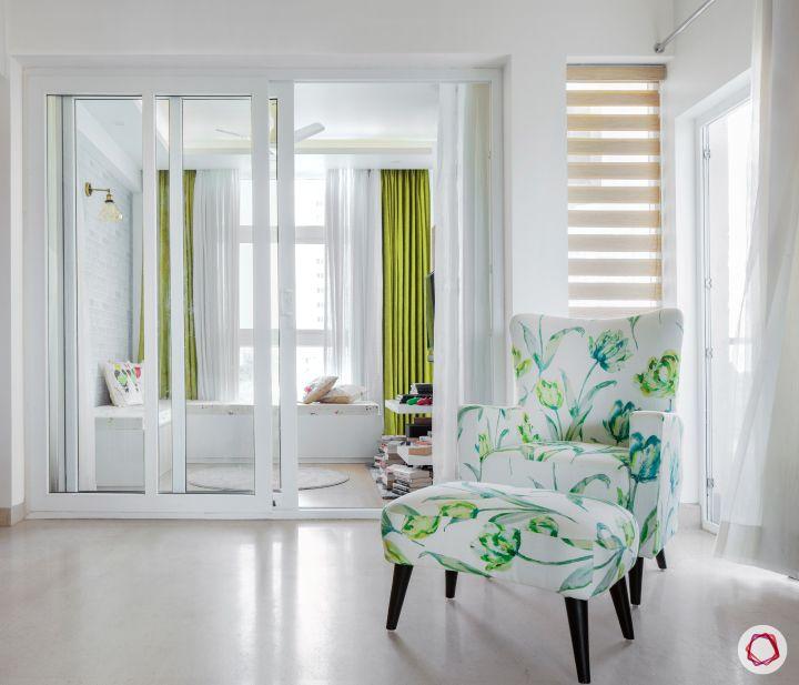 Room decor_glass door