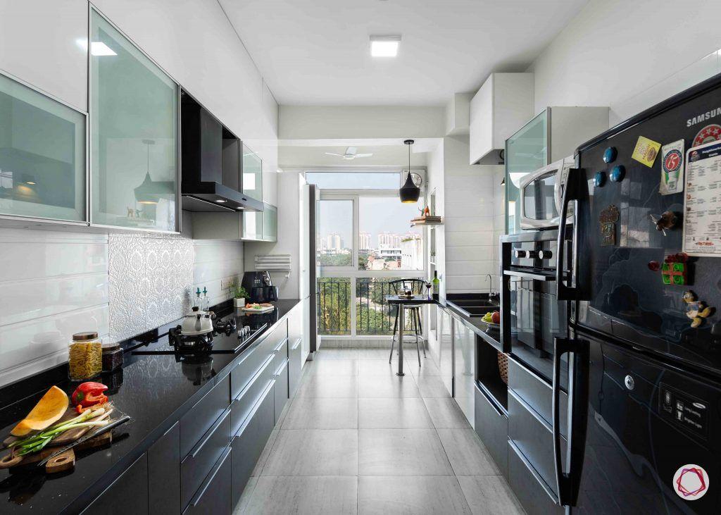 Modern kitchen design_full kitchen view