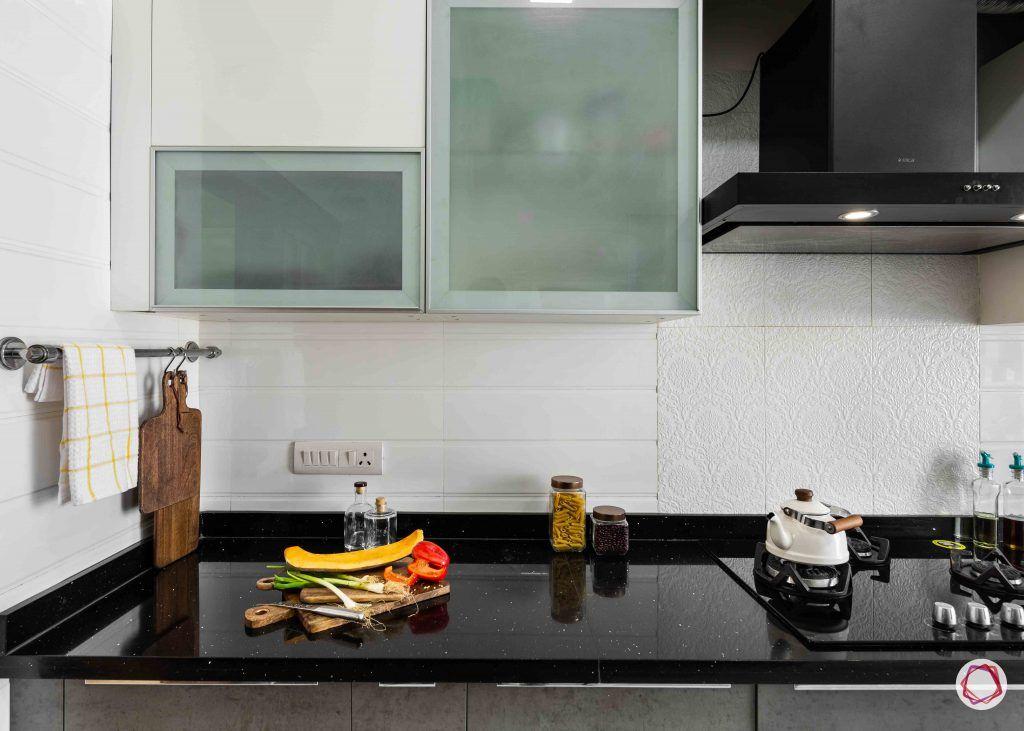 Modern kitchen design_wall cabinets