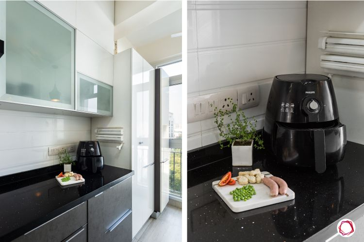 Modern kitchen design_tall unit