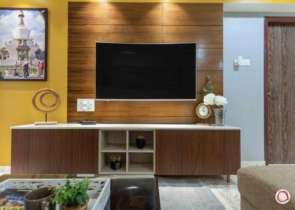 living-wooden tv unit