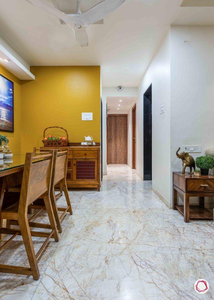 home interior-living-mustard wall