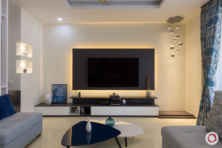 house photos-backlit TV-tv unit-lights