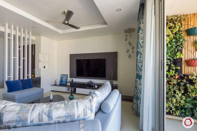 house photos-TV unit-room partition