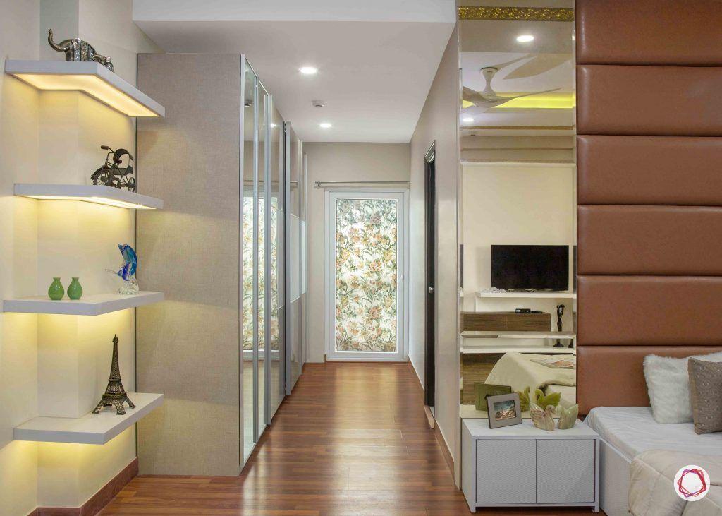 home lighting design_underlit shelves