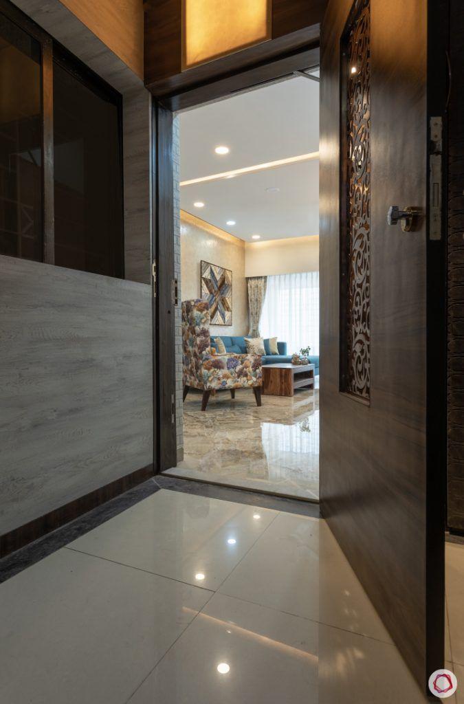 2bhk interior design india_entrance