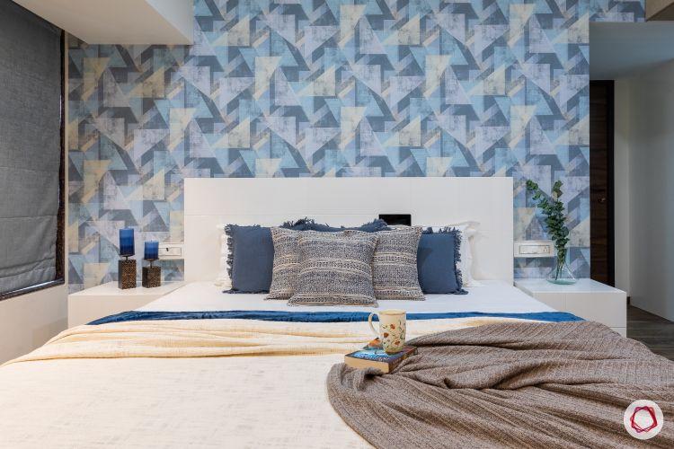 2bhk interior design india_bedroom 1