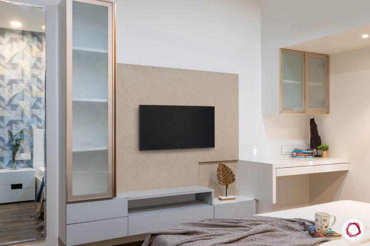 2bhk interior design india_bedroom 5