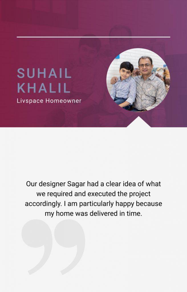 2BHK interior design india_client quote
