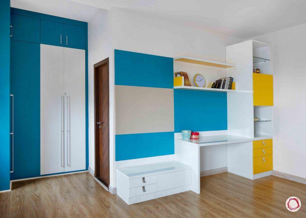 kitchen design ideas blue wardrobe