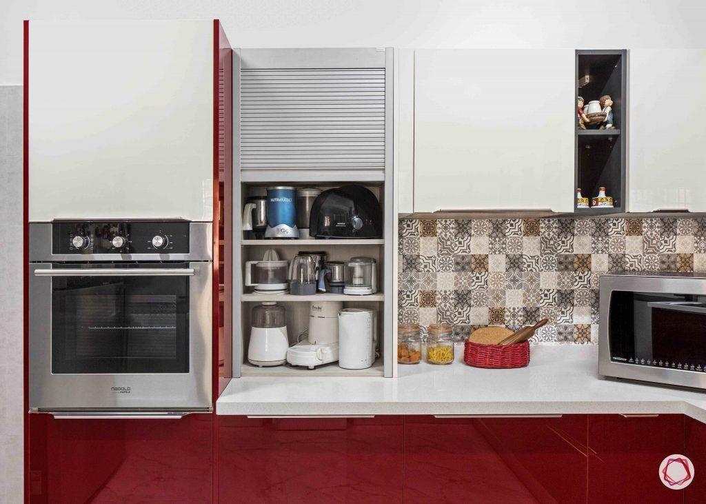 Kitchen cupboards_roller shutter