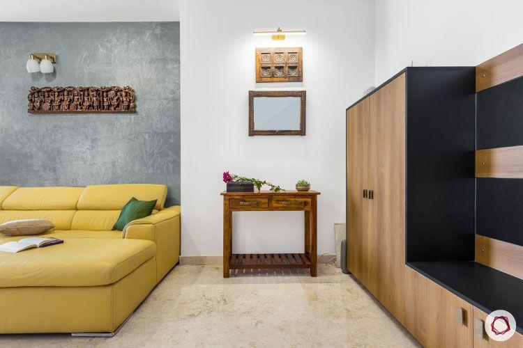 modern design_shoe cabinet designs-grey wall paint designs