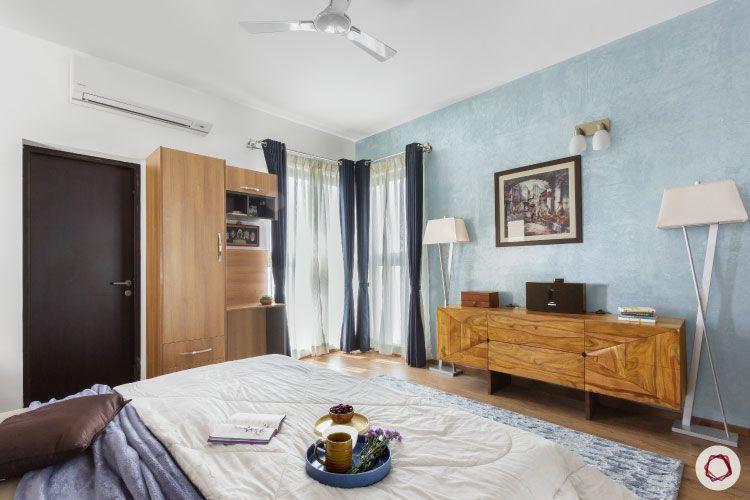 Modern design_blue accent wall ideas