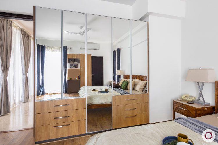 Modern design_mirror shutter designs