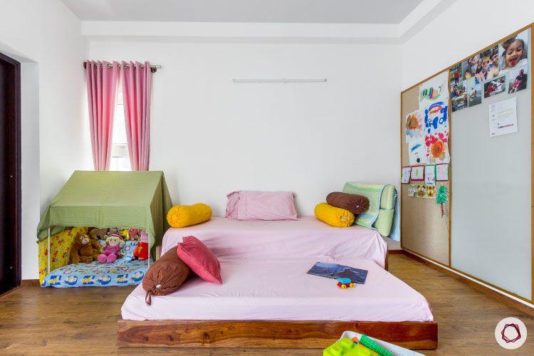 modern design_tent for kids room
