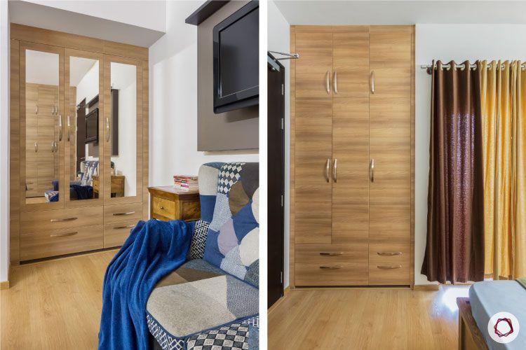 modern design_wardrobe designs cast in niche
