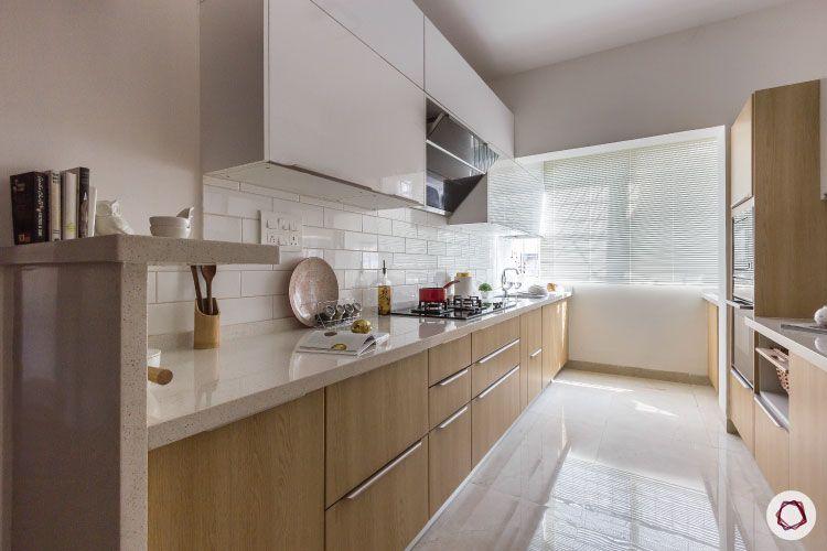 modular kitchen photos breakfast counter