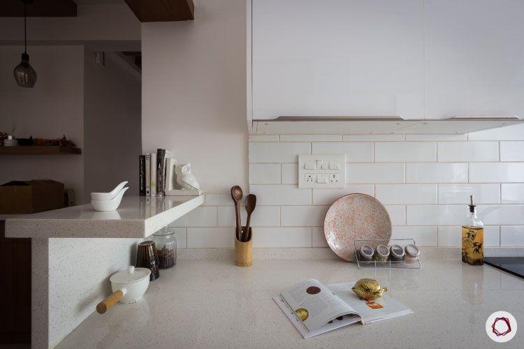 modular kitchen photos white countertop