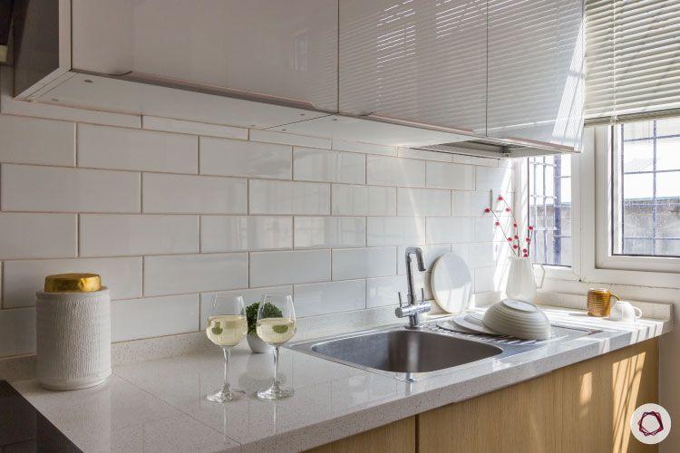 modular kitchen photos sink