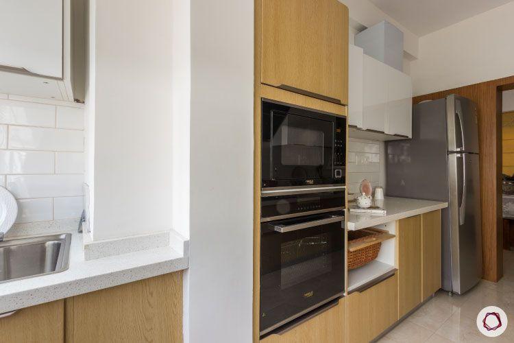 modular kitchen photos tall unit