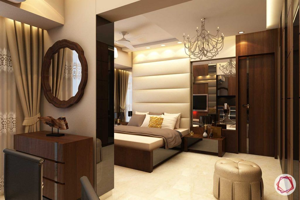 Home interiors ghatkopar east_master bedroom full view