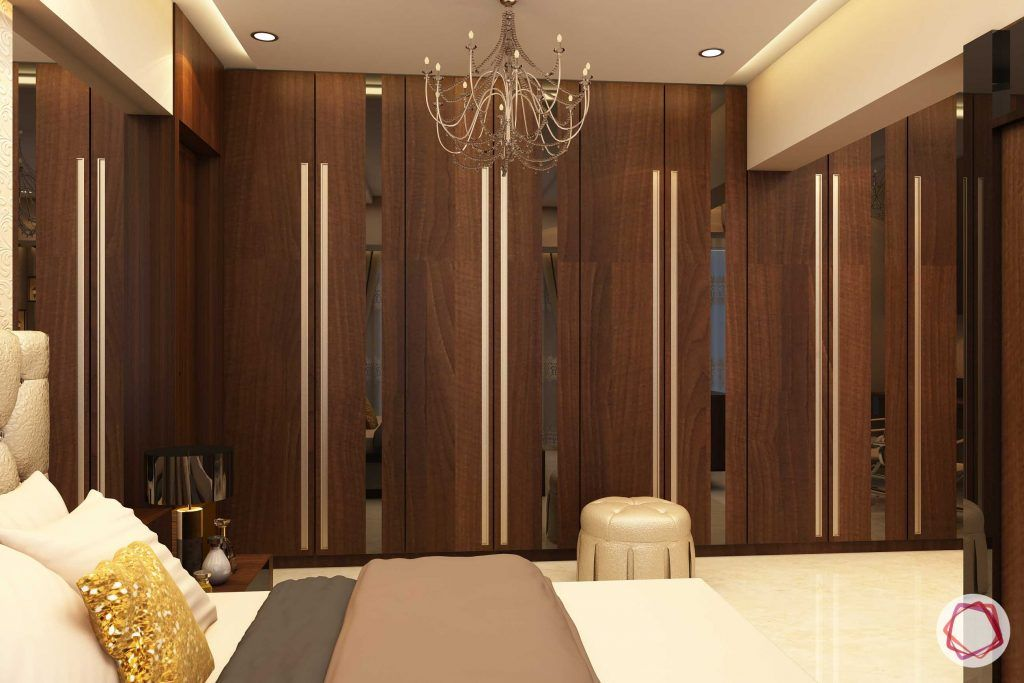 Home interiors ghatkopar east_master bedroom wardrobes
