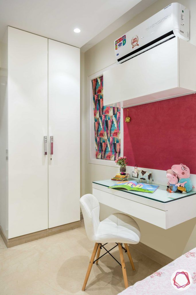 Home interiors ghatkopar east_daughters room study table