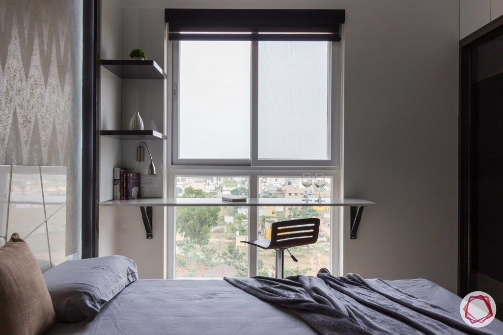 bachelor pad interior design bedroom view