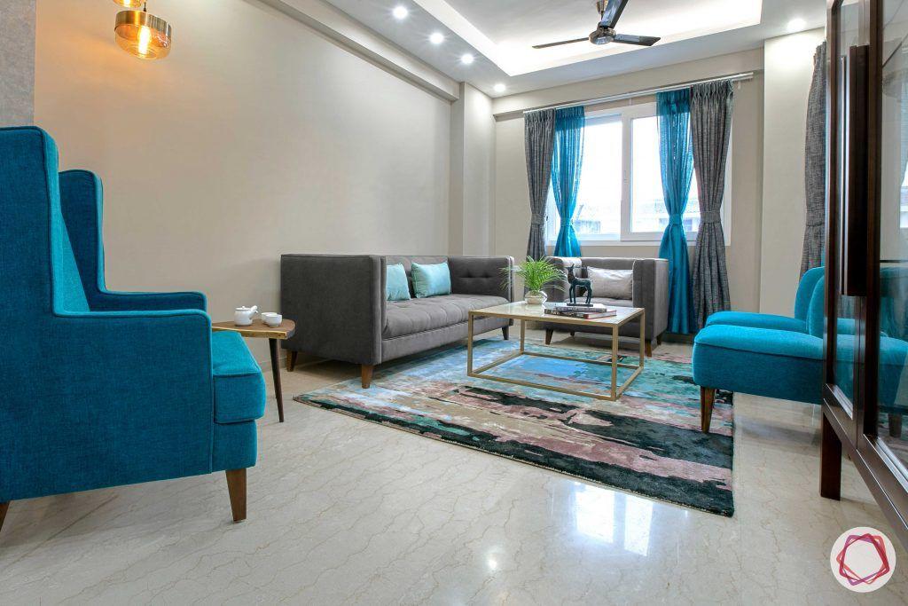 Prateek Stylome-blue chair designs-blue carpet designs