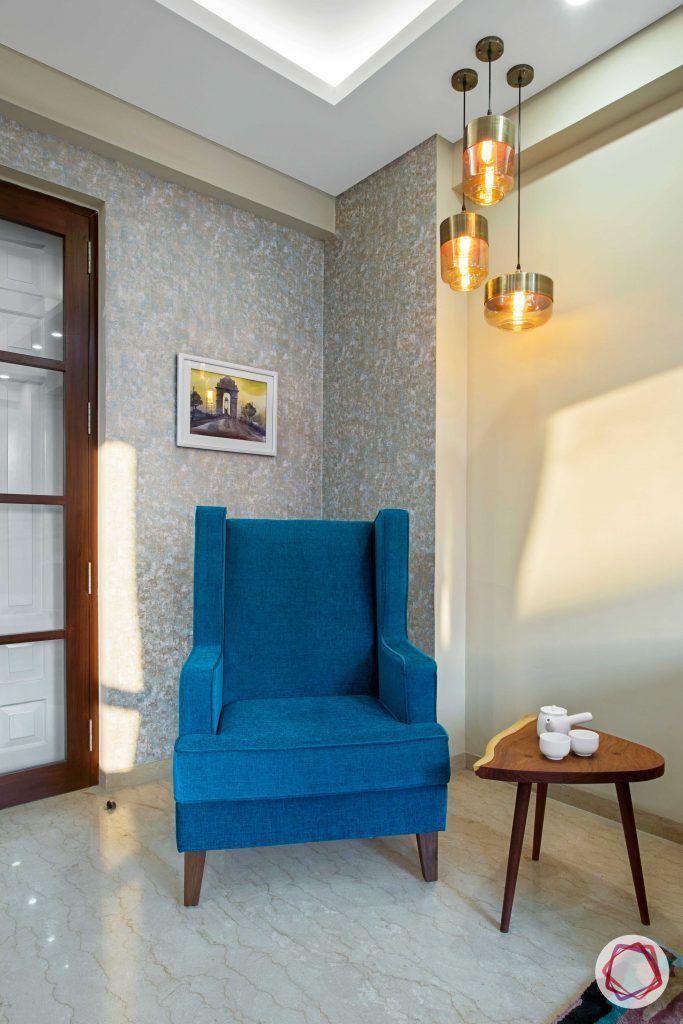 Prateek Stylome-pendant lights designs-blue armchair designs