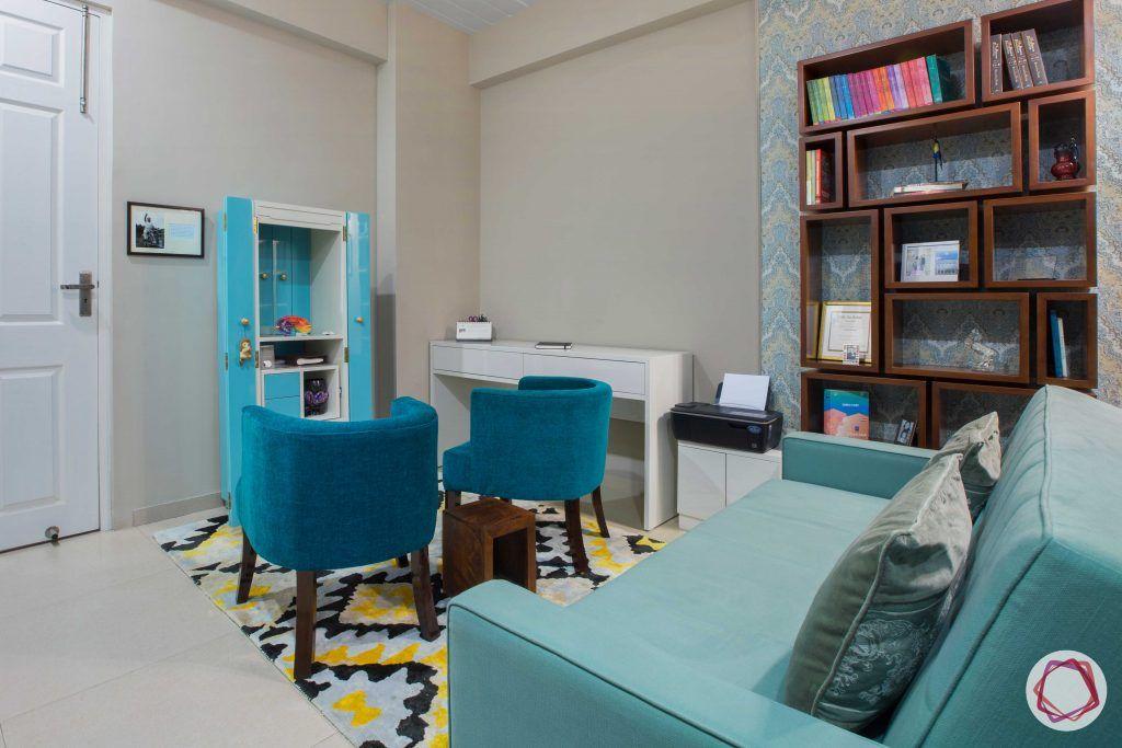 Prateek Stylome-butsudan-blue wallpaper designs
