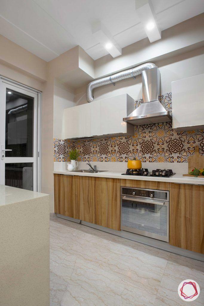 Prateek Stylome-wooden kitchen cabinets-chimney designs