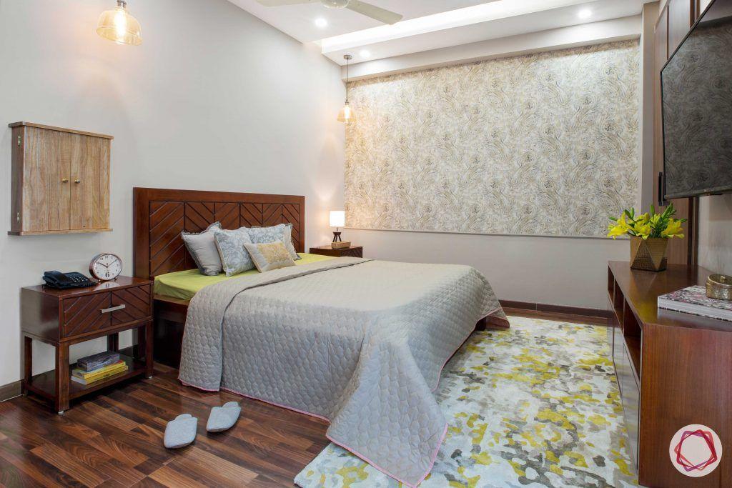 Prateek Stylome-wooden bed designs-floral carper designs
