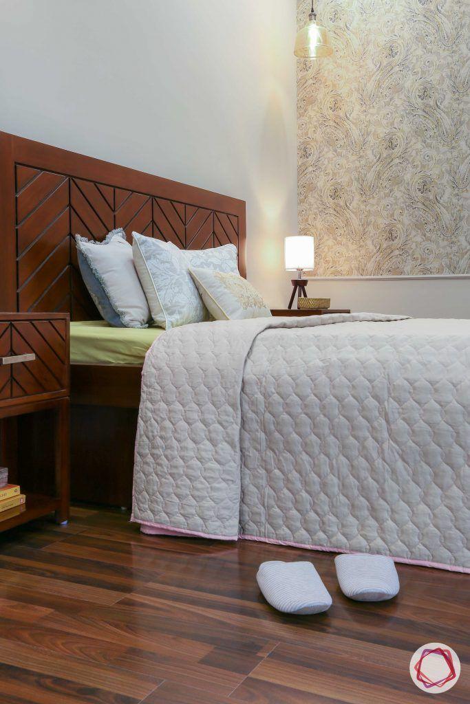 Prateek Stylome-wooden headboard designs-wooden side table designs