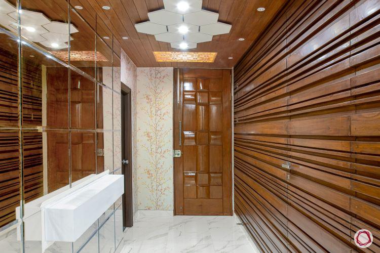 room decor ideas wood panelling
