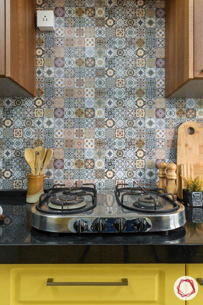 Small kitchen ideas_hob area
