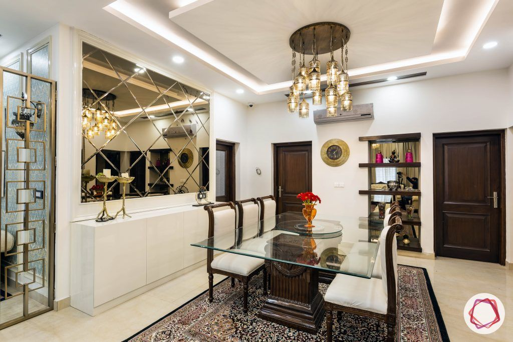 choosing your dining table white glass