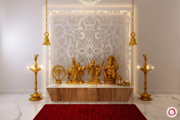 pooja room lights panel